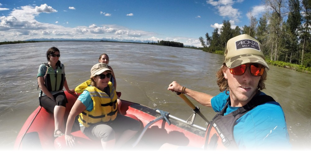 Talkeetna day trip from Anchorage: Back Country Rail & Raft