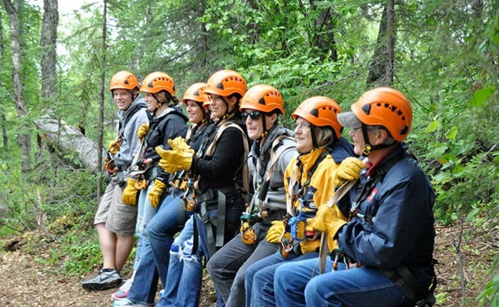 Talkeetna day trip from Anchorage: Zipline