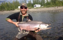 Talkeetna day trip from Anchorage: Fly Fishing, Catch & Release