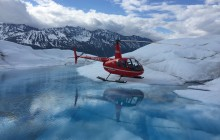 Glacier Dog Sledding via Helicopter
