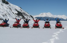 Glacier Valley Snow Mobile Tour