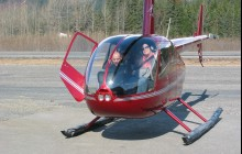 Winter Helicopter with Glacier Landing