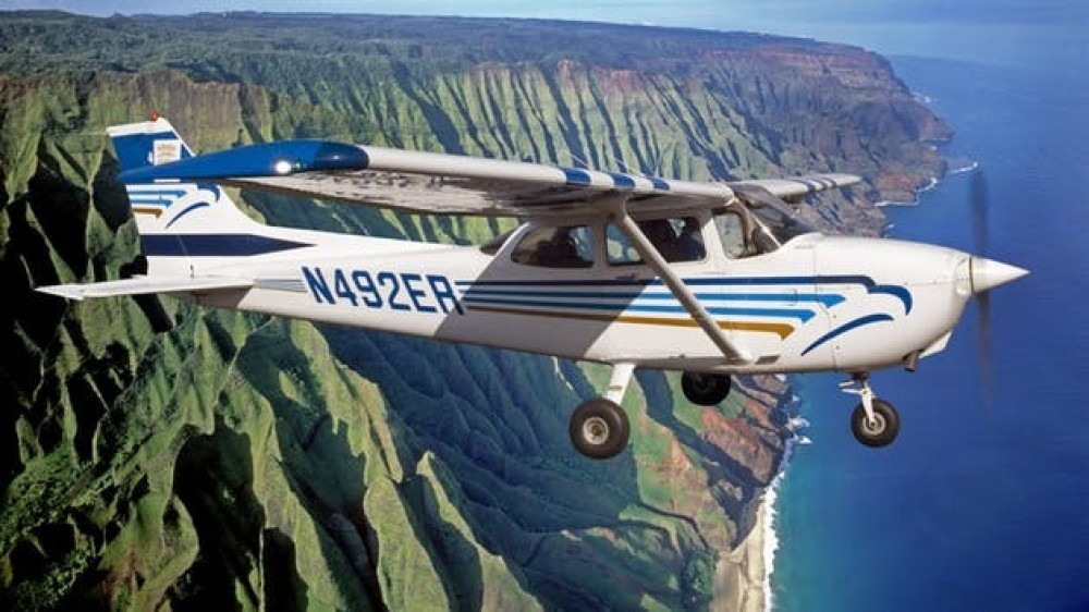 The Cessna Kauai Airplane Tour