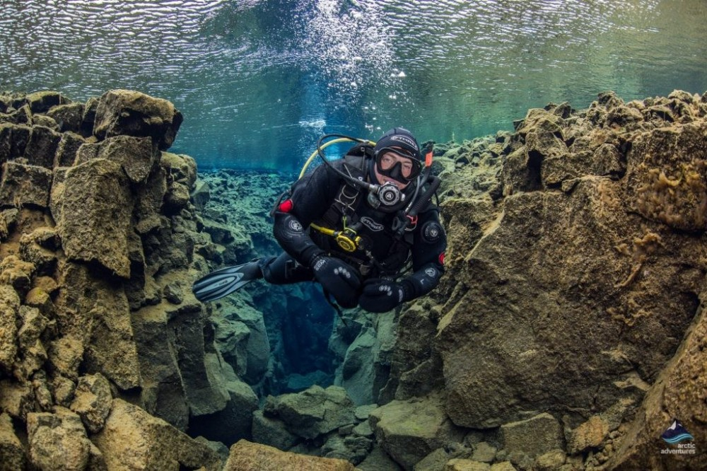 Scuba Diving In Iceland - Deep Into the Blue