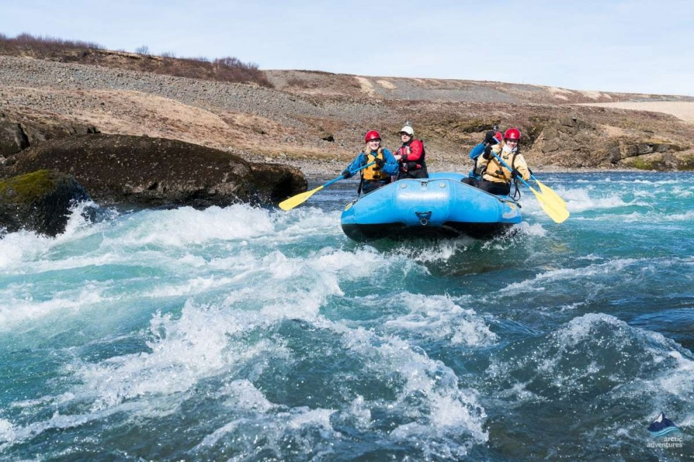 Gullfoss Canyon Rafting