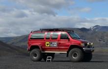 Thorsmork in a Super Jeep
