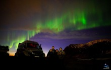 Northern Light Explorer in a Super Jeep