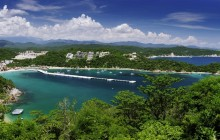 Huatulco, beaches and Crystal Waters by Catamaran