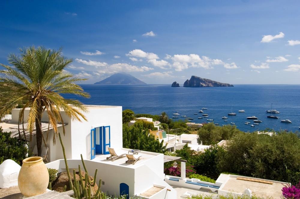 Aeolian Island Cruise to Panarea + Stromboli
