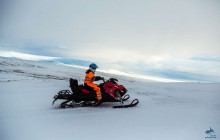 Glacier Snowmobile & Ice Cave Tour From Gullfoss