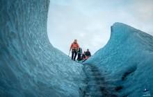 Blue Ice Glacier Hike & Ice Climbing
