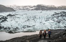 Blue Ice Glacier Hike & Ice Climbing