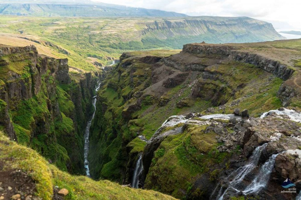 Glymur Waterfall Hike