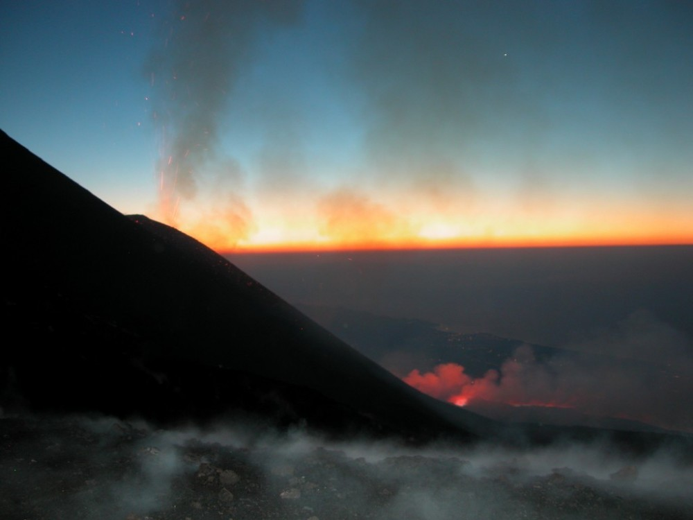 Etna Sunset 3000 meters