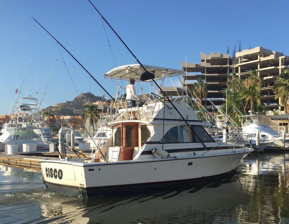36' Custom Cabin Cruiser Private Charter - 8 Pax