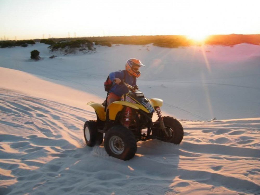 Quad Biking & Sand Boarding Combo Tour