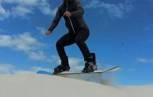 Sandboarding the Atlantis Dunes