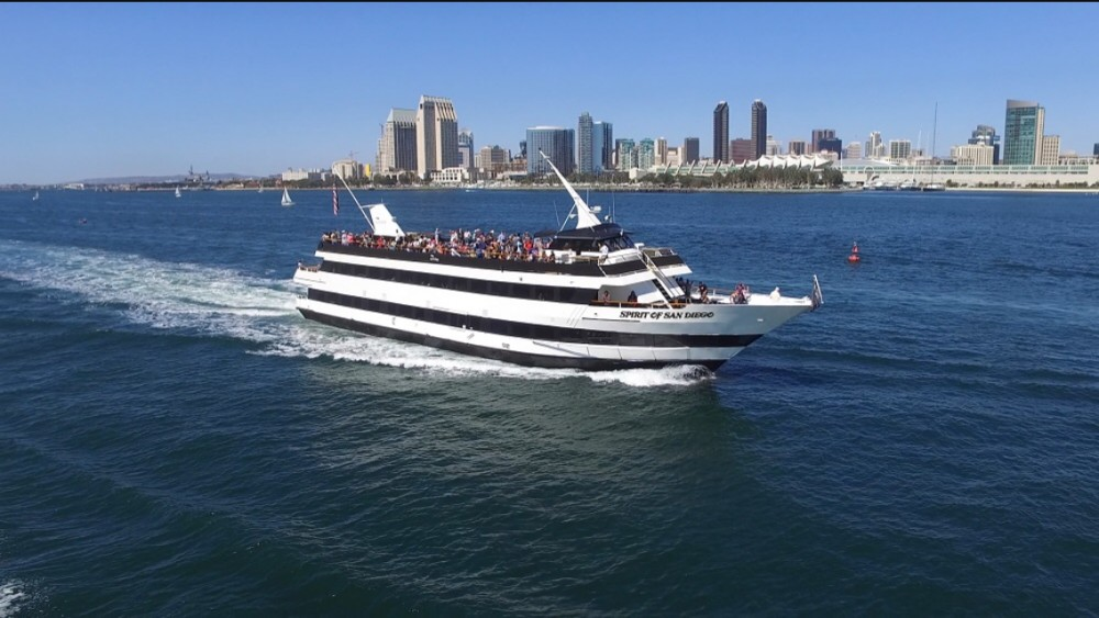 One Hour San Diego Harbor Cruise (Half Bay)