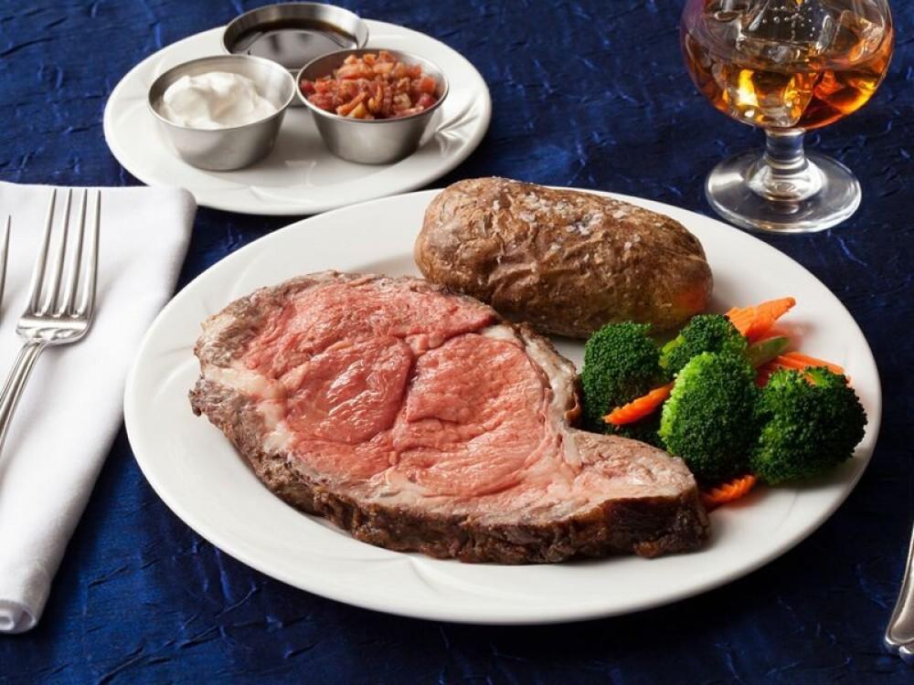 Sunday Prime Rib Dinner