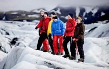Glacier Walk and Secret Lagoon from Reykjavík