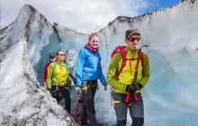 South Shore, Glacier Walk and Ice Climbing from Reykjavík