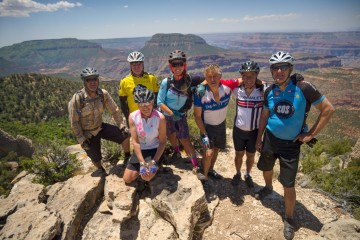 A picture of Grand Canyon North Rim 4 Day Mountain Bike Trip