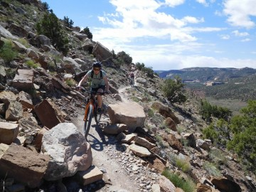 A picture of Kokopelli Trail 5 Day Mountain Bike Trip
