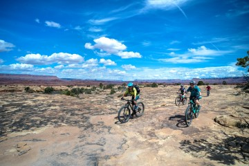A picture of Needles To Moab Canyonlands 4 Day Biking Trip