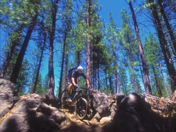 A picture of Oregon Cascade Mountain Singletrack 5 Day Trip