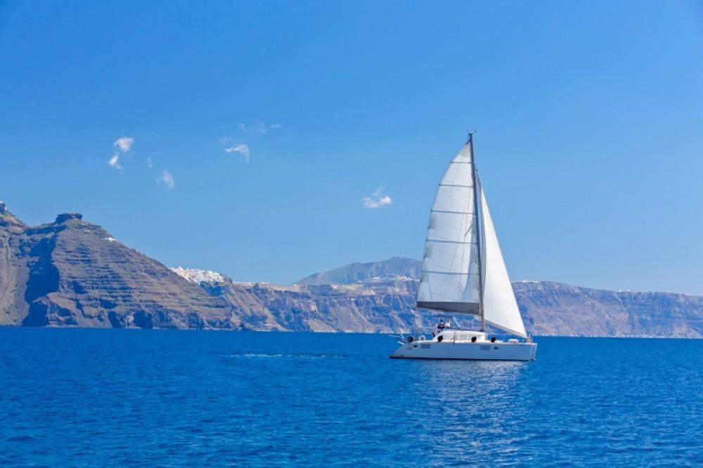 Private Santorini Catamaran Cruise