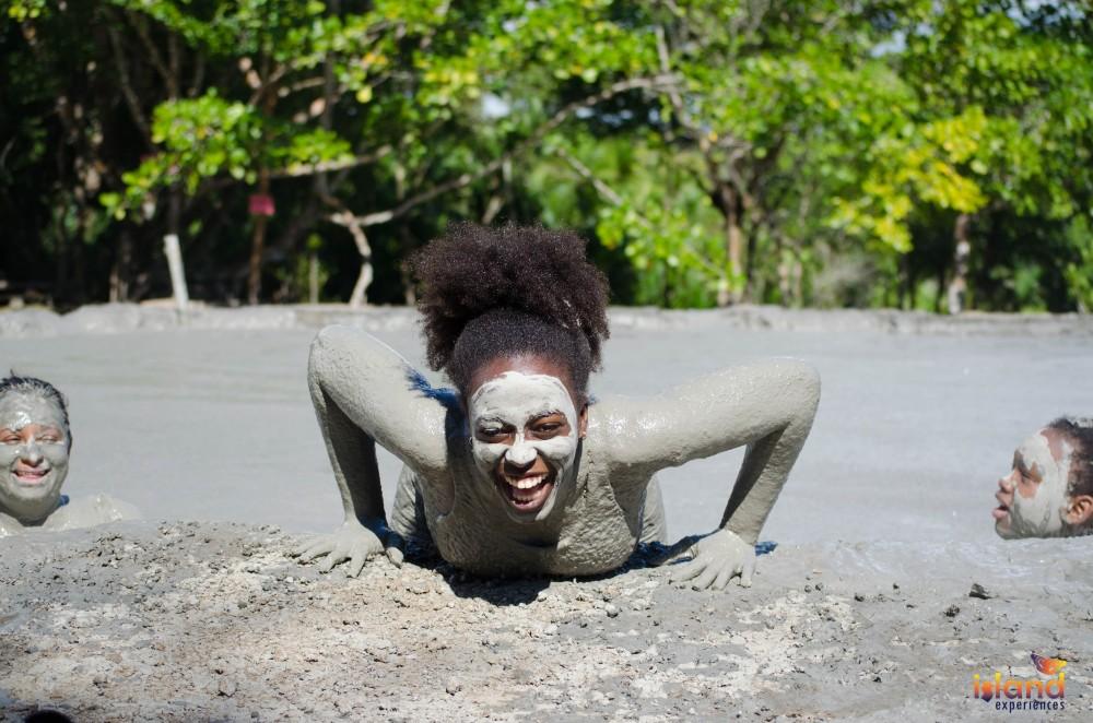 Trinidad Mud Volcano Hike with Food Experience
