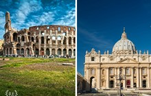 Private Rome In One Day: Colosseum, Piazzas, Vatican City