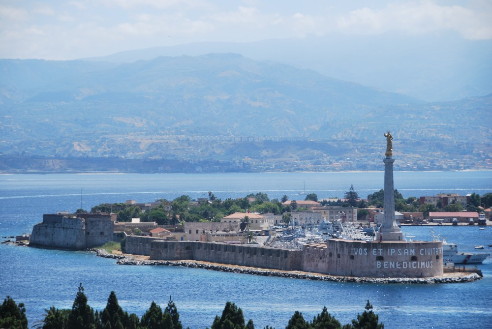 Beautiful Messina From Taormina