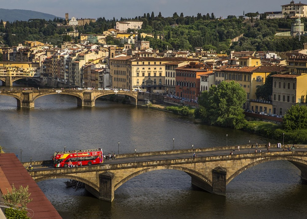 City Sightseeing Hop On Hop Off Florence + Uffizi Gallery Tour