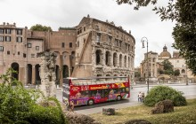 City Sightseeing Hop On Hop Off Rome + Maxi Combo Pass