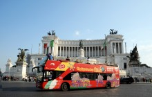 City Sightseeing Hop On Hop Off Rome + Roma Pass