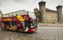 City Sightseeing Hop On Hop Off Turin + Mole Atonelliana + Museum