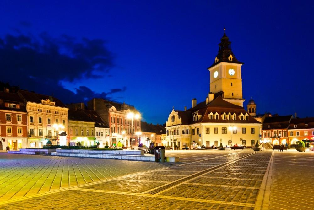 Visit Brasov By Night