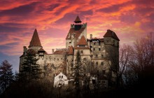Castle Bran and Bear Sanctuary from Brasov