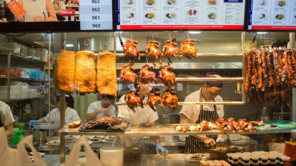 A Taste of Michelin: Chicken Rice and Local Hawker Food Tour