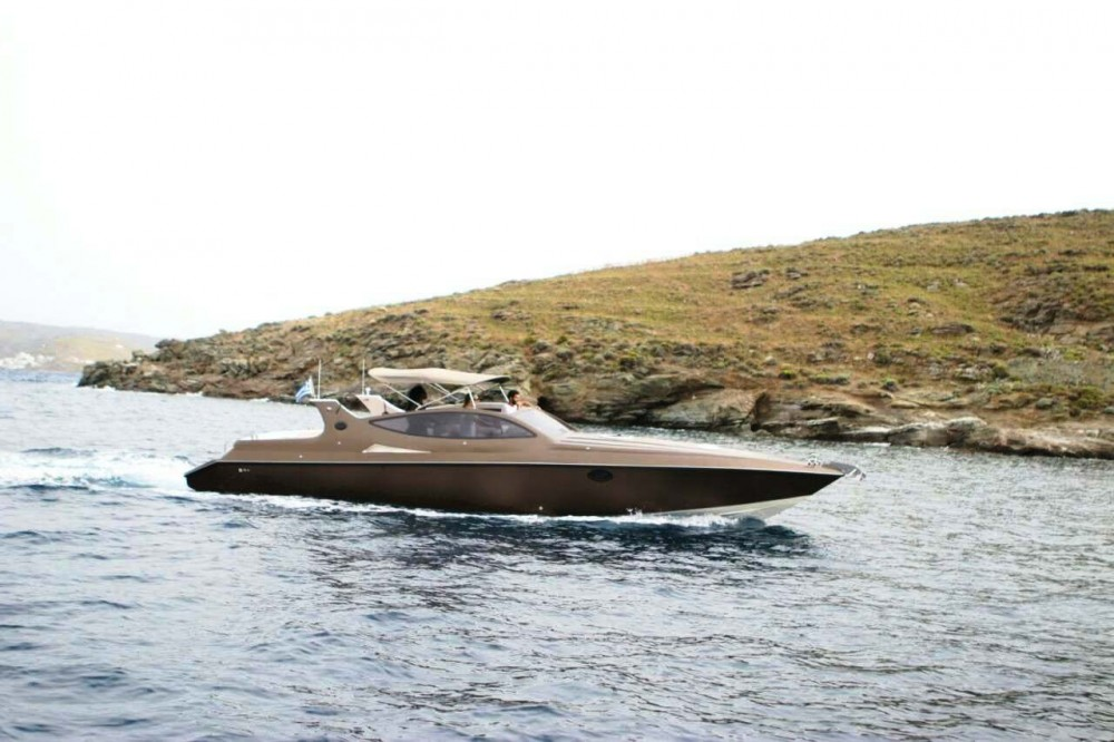 Half Day Mykonos Private Cruise by Speedboat 'Cigarette 360'