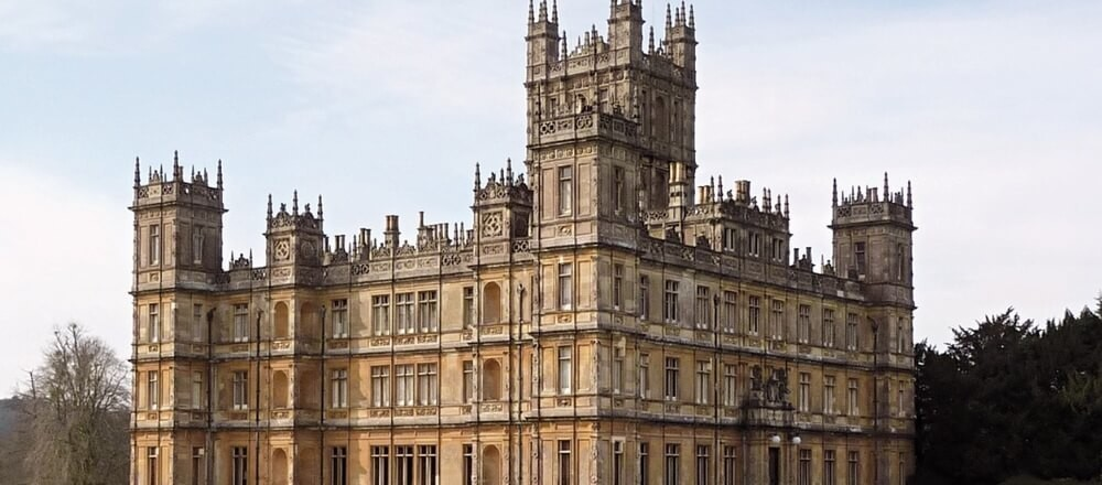 Downton Abbey Highclere Castle Bampton & Oxford