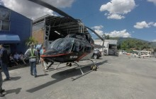 Helicopter Ride in Medellin
