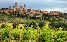 Private Full Day San Gimignano and Volterra Tour