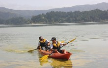 Mystic Furnas: Canoeing + Mountain Biking