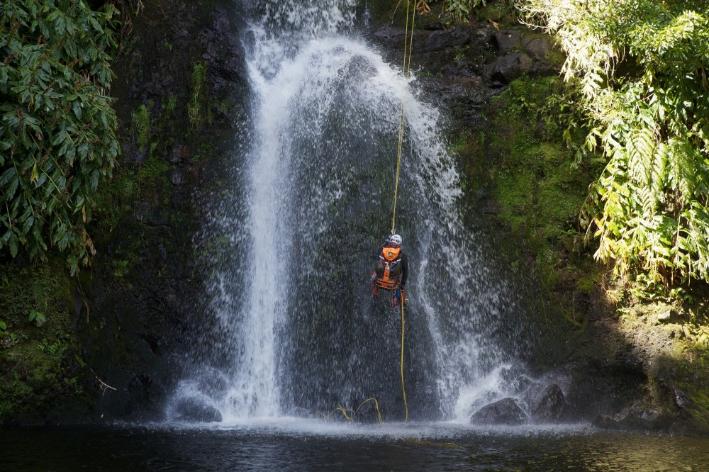 Salto Cabrito Half Day Canyoning with Transfers