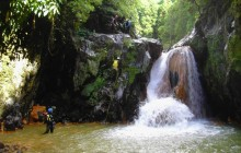 Ribeira dos Caldeirões Half Day Canyoning with Transfer