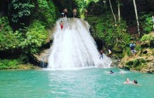 Irie Blue Hole & Jungle River Tubing Adventure Tour from Falmouth