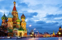 Moscow Shore Excursion on Fri-Wed (For 3-Day Cruisers)