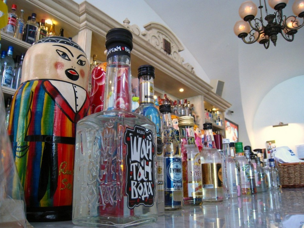 Vodka Tasting & Canal Boat Tour with Transfers